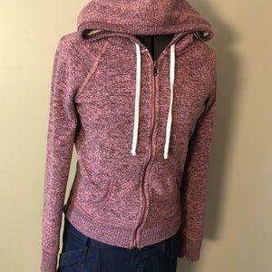 Pink AE Super Soft Zip Hoodie